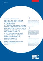 Regulación para combatir la desinformación